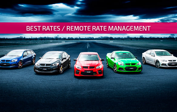 remote rate management